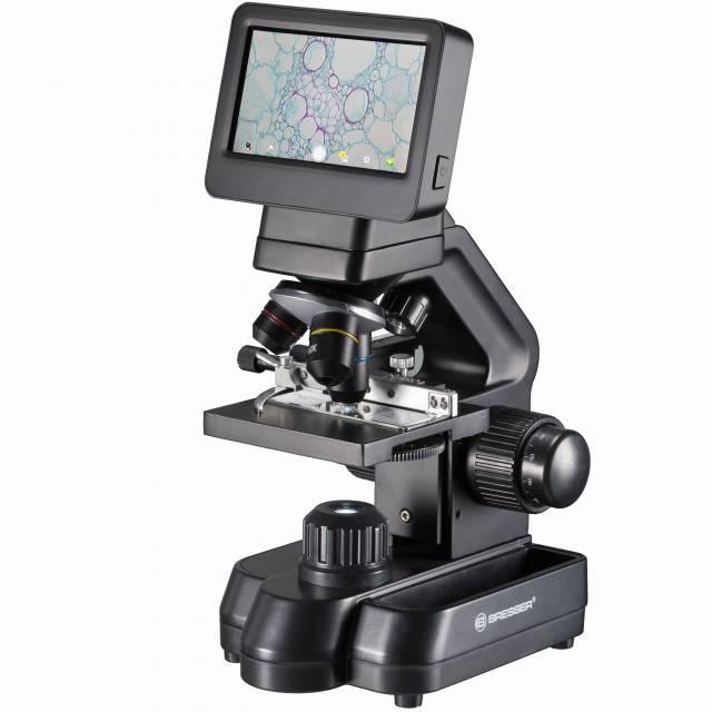 BRESSER Biolux Touch 5 MP HDMI Mikroskop für Schule und Hobby
