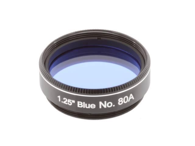 """EXPLORE SCIENTIFIC Filtre 1.25"""" Bleu Nr.80A"""