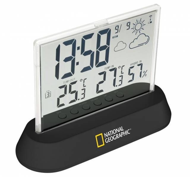 Wireless Weatherstation Transparent