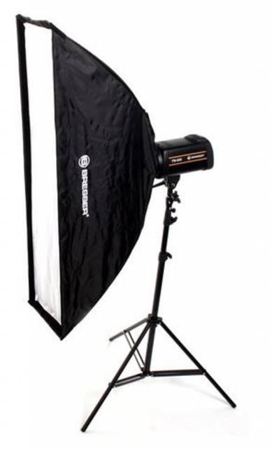 BRESSER SS-10 Umbrella Softbox 30x120cm