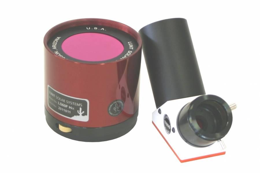 Filtre solaire H-alpha LUNT LS60FHa/B1800d2