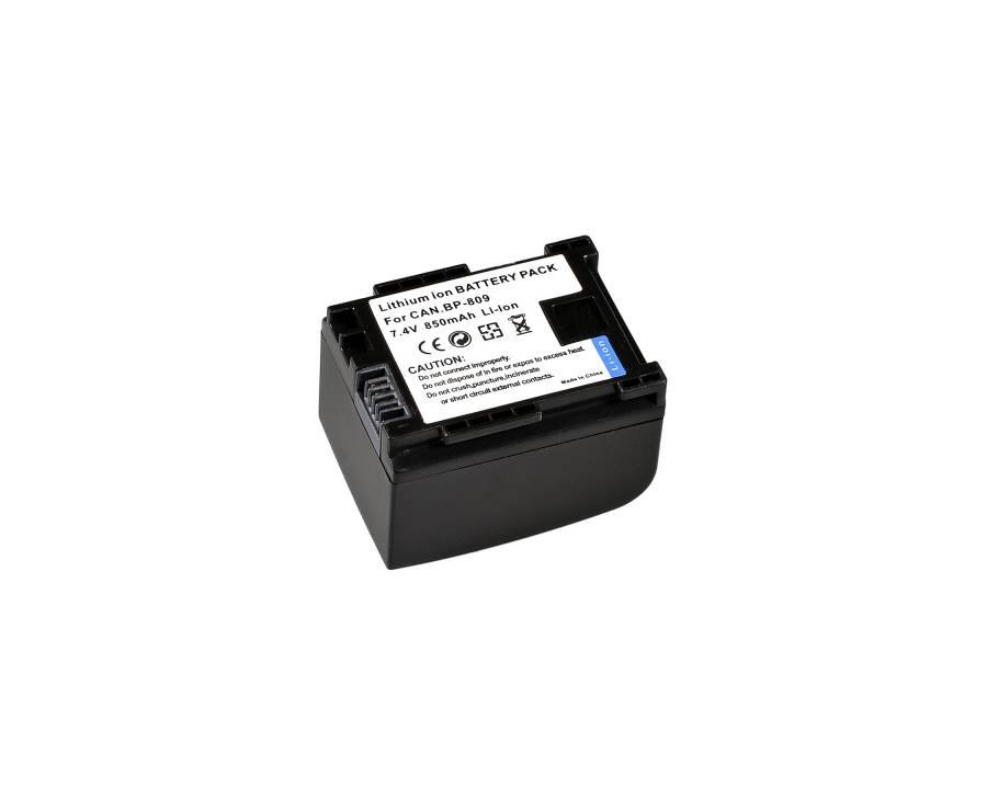 BRESSER Batería de repuesto de iones litio para Canon BP-809