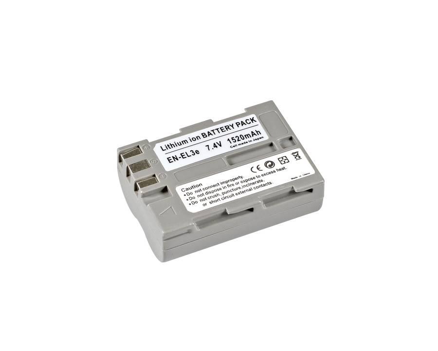 BRESSER Batterie de rechange Lithium-Ion pour Nikon EN-EL3e+