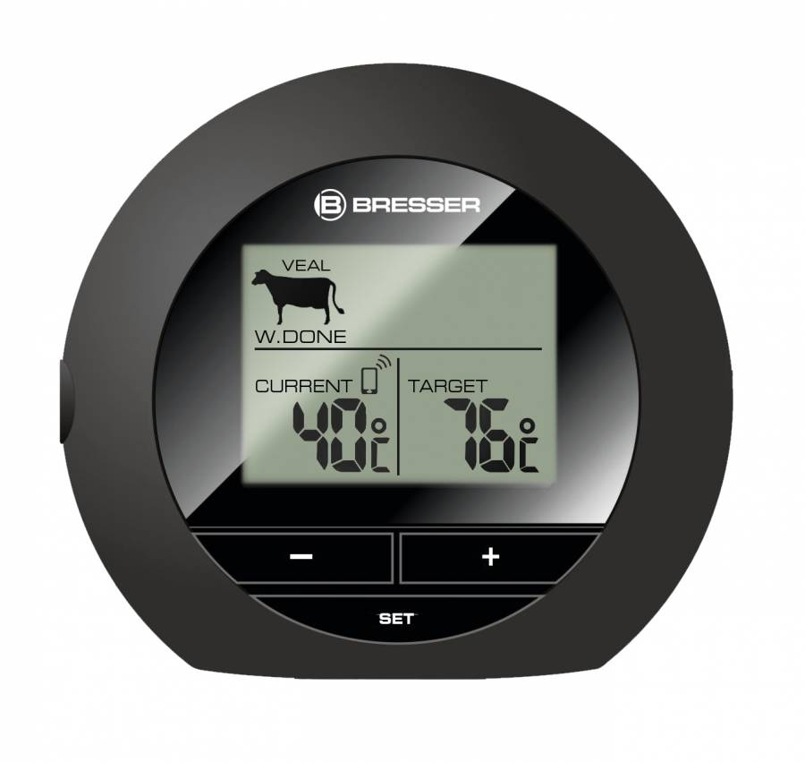 BRESSER Bluetooth Grill Thermometer BT4