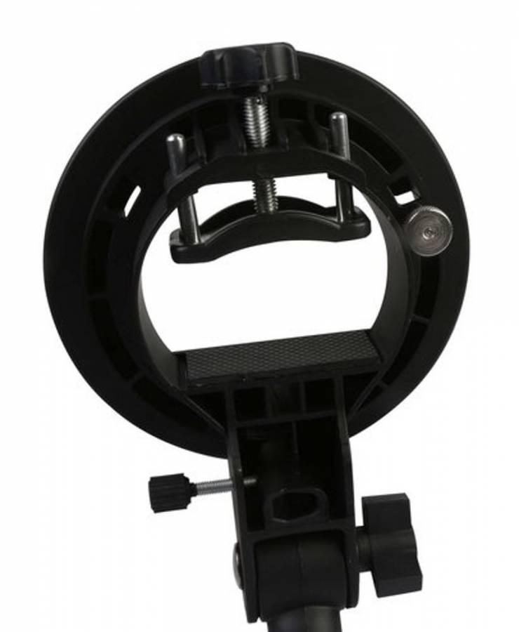 Supporto per Flash BRESSER JM-86 con Raccordo S-Baionetta per Accessorio fotografico