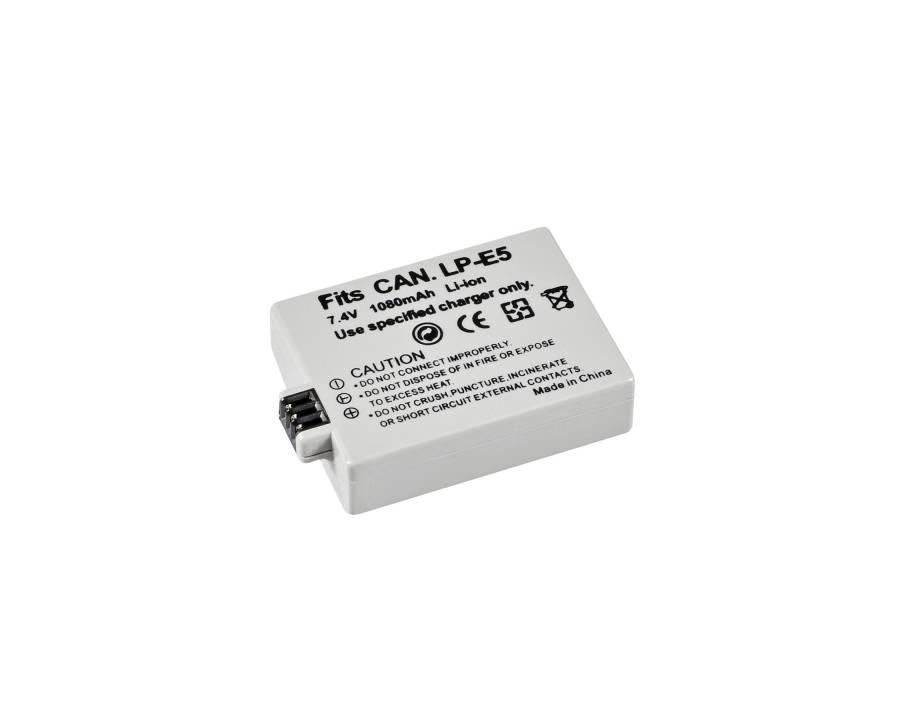 BRESSER Batería de repuesto de iones litio para Canon LP-E5