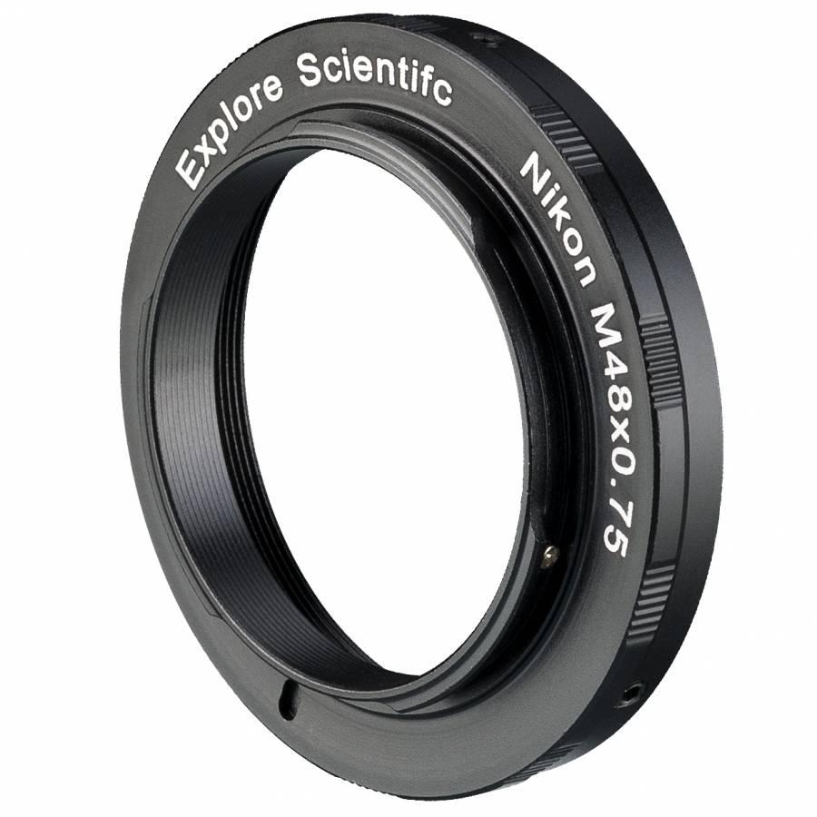 Bague d'Adaptation M48x0.75 EXPLORE SCIENTIFIC pour Appareil-photo Nikon