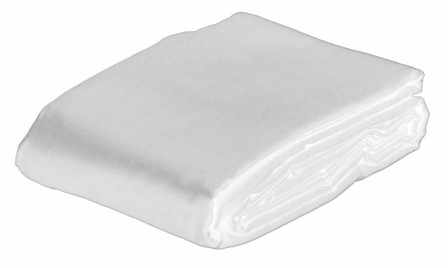 BRESSER BR-8P Fondale in Tessuto 3,0x6,0m poliestere bianco