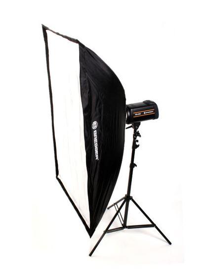 Softbox de type parapluie BRESSER SS-10 70x100cm