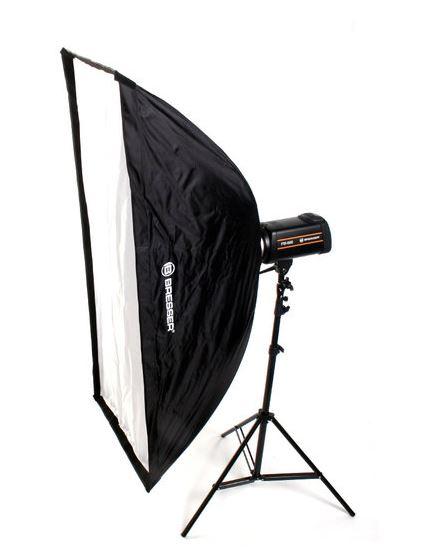 Softbox de type parapluie BRESSER SS-10 60x140cm