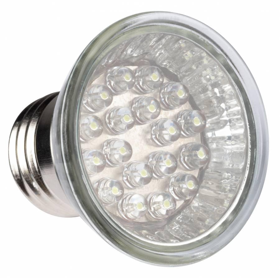 Faretto BRESSER Buzzel per effetti luce con 9 LED E27/1W adatto per fotografare prodotti