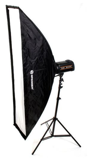 BRESSER SS-10 Schirmsoftbox 35x160cm