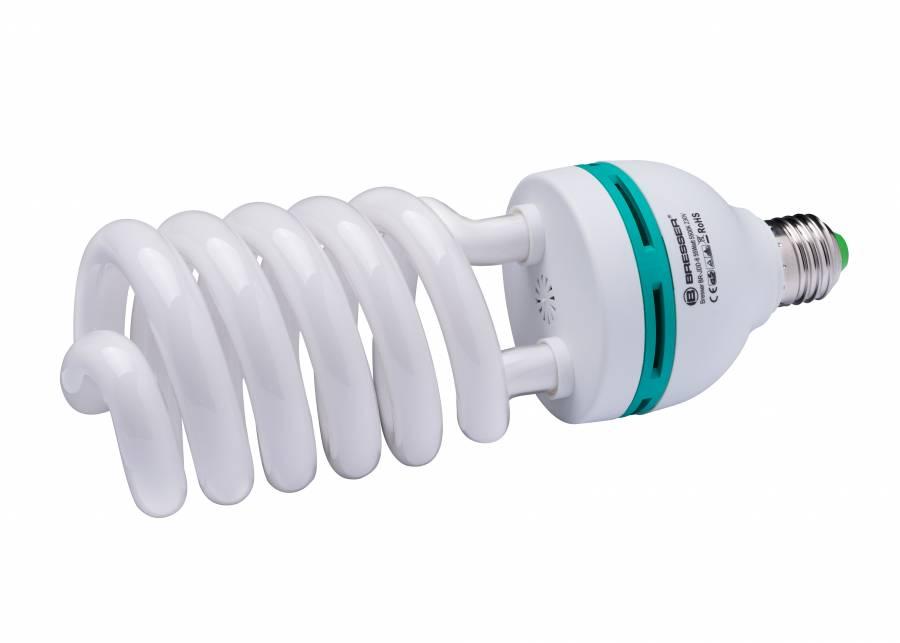 BRESSER JDD-6 Ampoule en spirale Lumière du Jour E27/55W