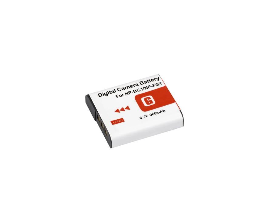 BRESSER Batteria ricaricabile agli ioni di litio / Batteria sostitutiva per Sony NP-FG1