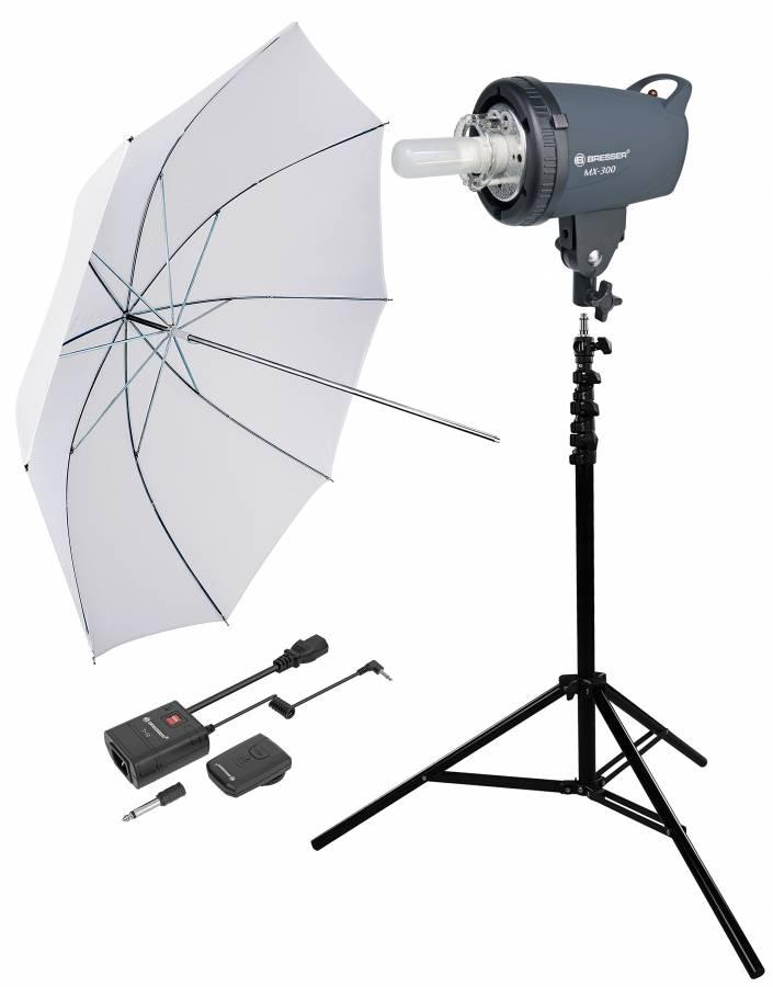 Kit di Flash da Studio BRESSER 300WS