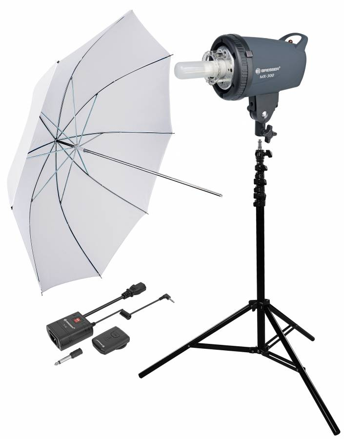 Kit de Flash de Studio BRESSER 300WS