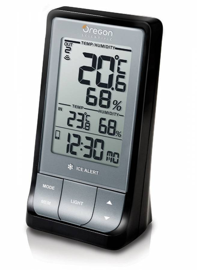 Oregon Scientific Weather@Home Wireless Thermometer (indoor/outdoor) with Bluetooth