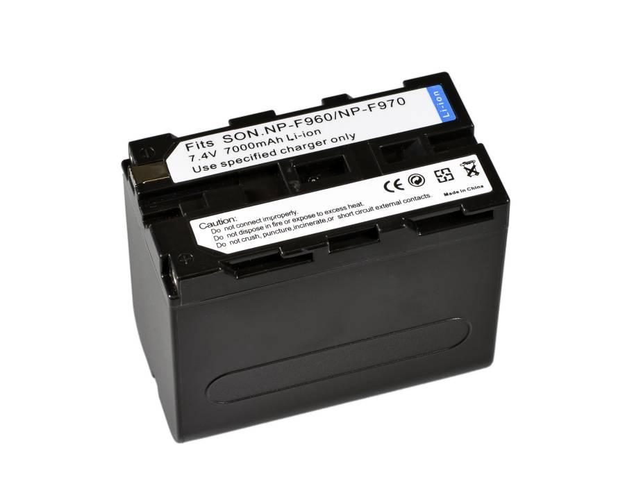 BRESSER Batería de repuesto de iones litio para Sony NP-F960/F970