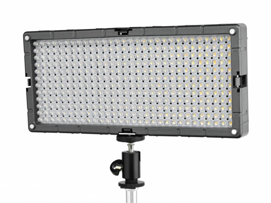 BRESSER SL-360-A Slimline LED Video-Flächenleuchte 21,6W/1.200LUX Bi-Color