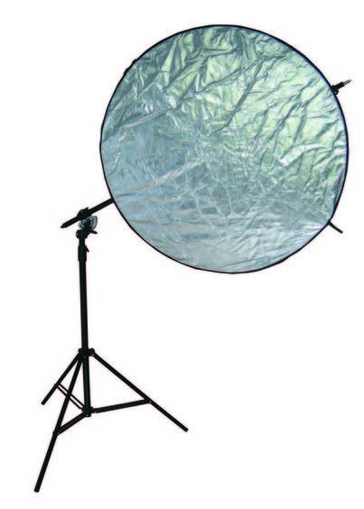BRESSER BR-RH400 Trípode Lámpara + auge titular / reflector