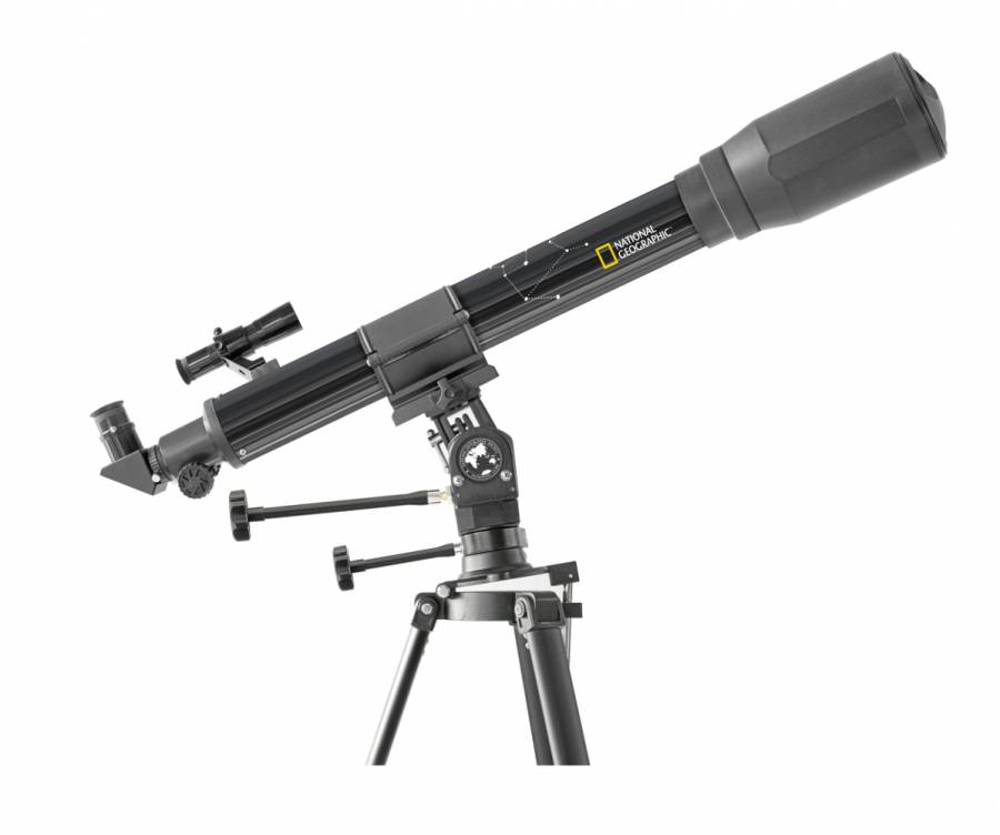NATIONAL GEOGRAPHIC Telescopio rifrattore 70/900 con supporto multifunzione