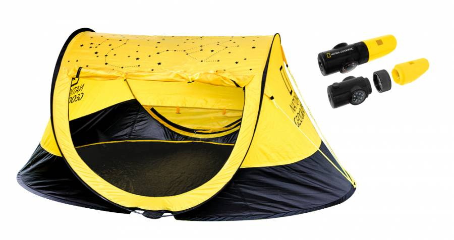 Tenda da lancio + fischietto 6 in 1 NATIONAL GEOGRAPHIC