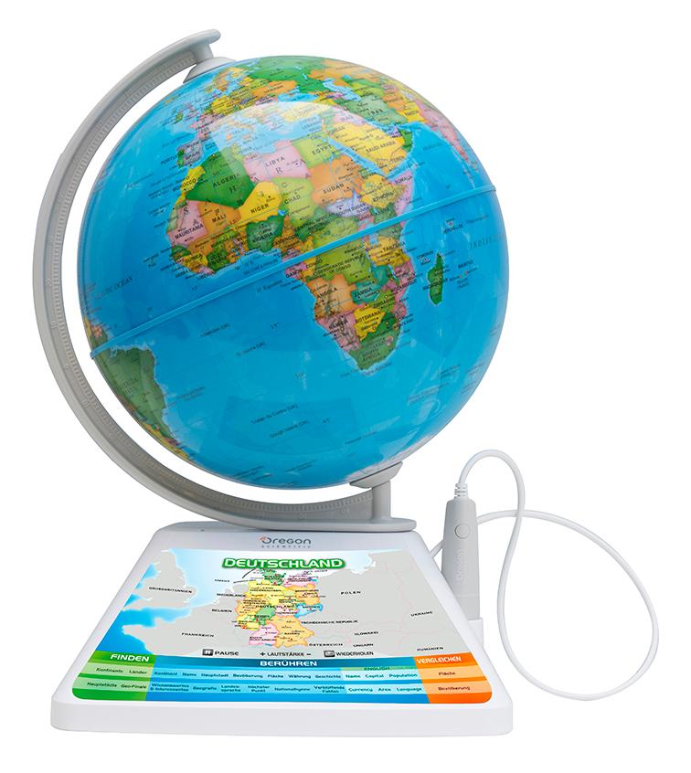 Oregon Scientific Adventure SmartGlobe - interaktiver Globus mit Smart Pen und 3D erweiterter Realität (AR)
