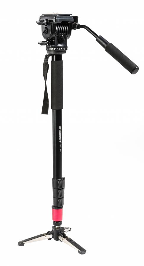 BRESSER MP-274VH Traveler Monopod with 3-Leg Locking Base