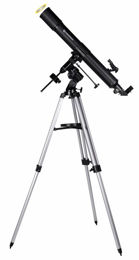 BRESSER Quasar EQ-Refractor Telescope 80/900 with Smartphone Camera Adapter