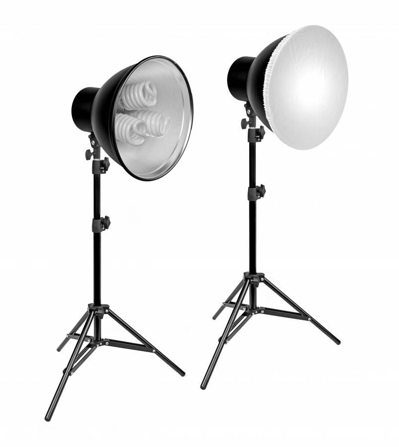 Kit di Illuminazione n. 3 BRESSER MM-12 (6 x 55W)