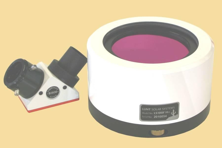 LUNT LS100FHa/B1800d1 H-alpha solar filter