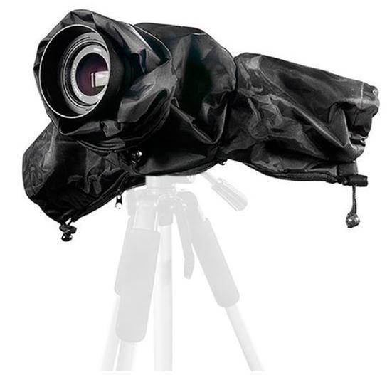 Custodia antipioggia impermeabile BRESSER BR-RC15 per fotocamere DSLR
