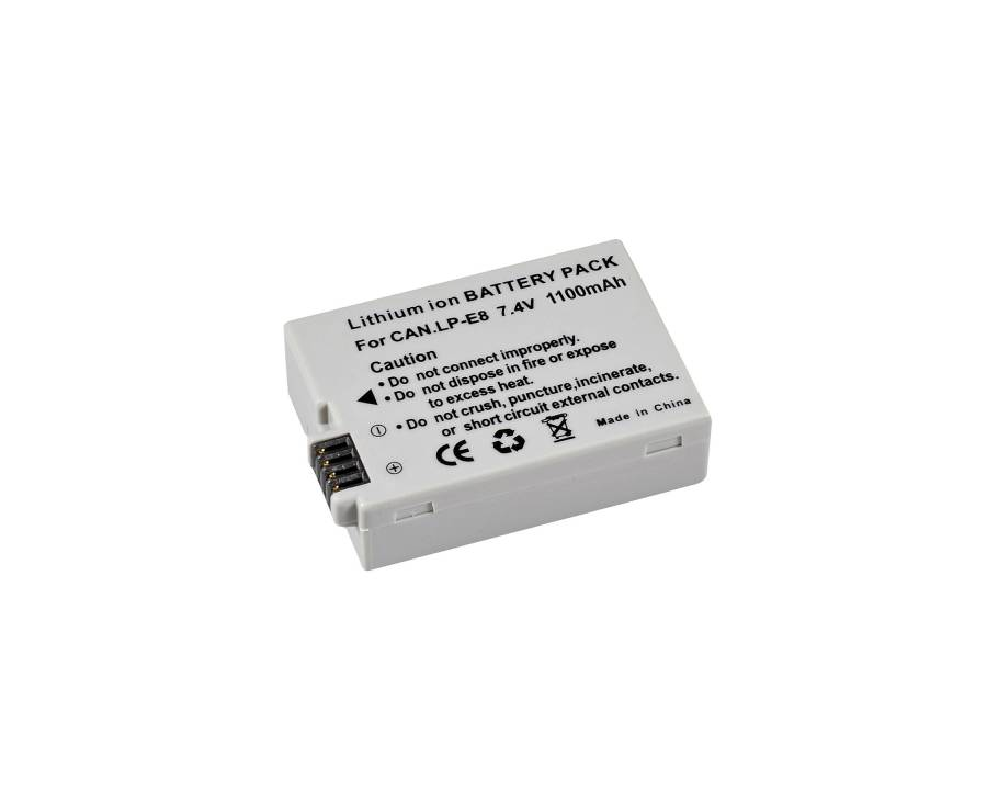 BRESSER Lithium Ion Replacement Battery for Canon LP-E8