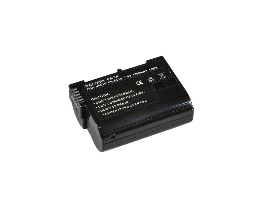 BRESSER Lithium-Ionen Ersatzakku für Nikon EN-EL15