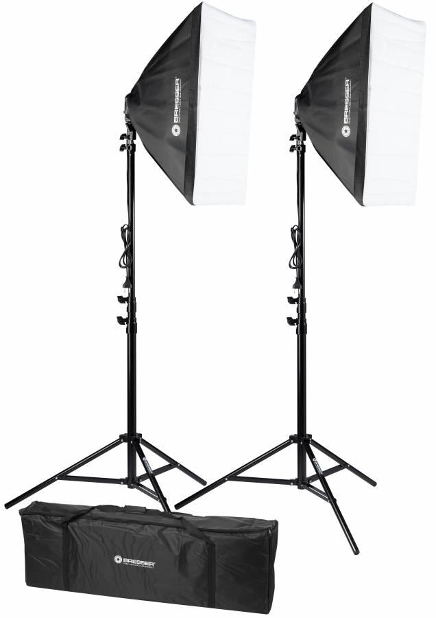 Kit di illuminazione BRESSER BR-2245 per fotografia e video 1800W