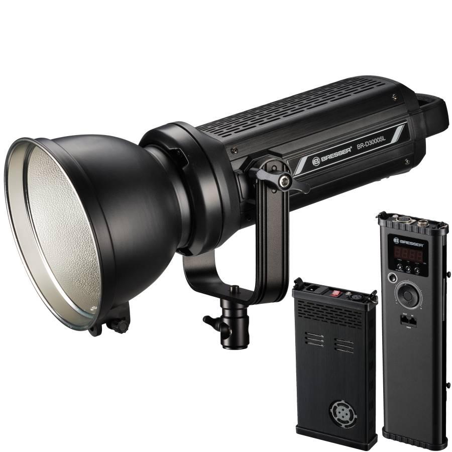Spotlight a LED BRESSER BR-D3000SL COB con raffreddamento