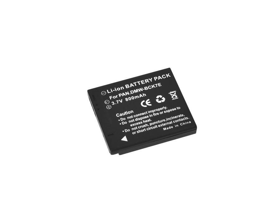 BRESSER Batterie de rechange Lithium-Ion pour Panasonic DMW-BCK7E