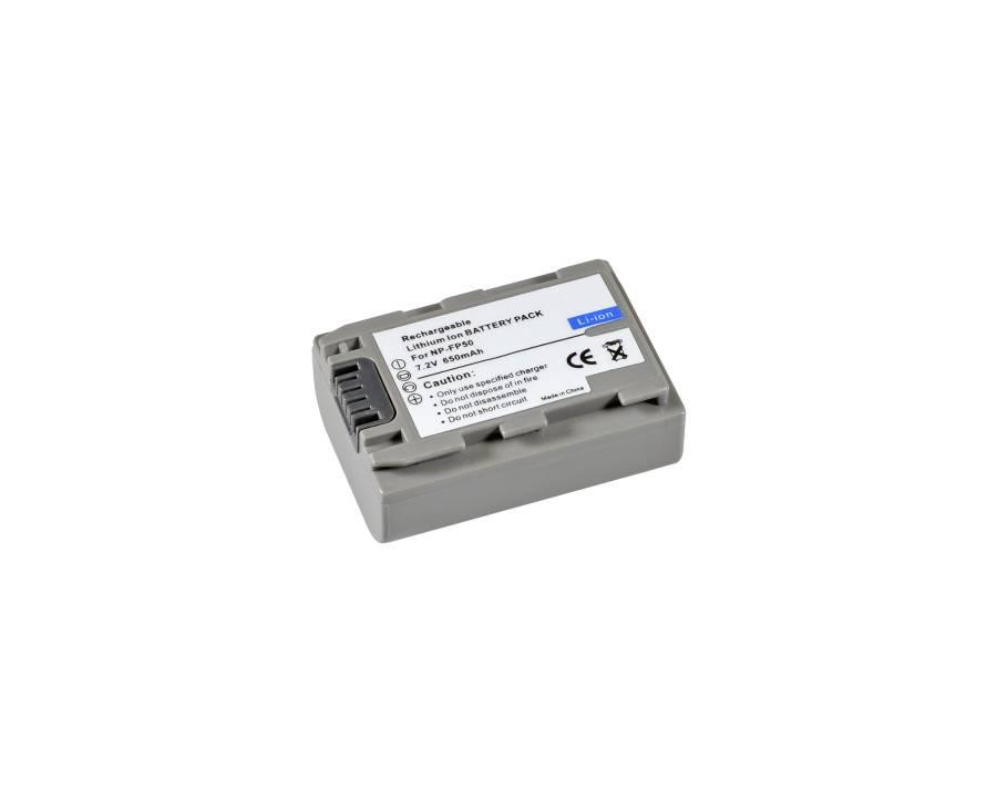 BRESSER Batería de repuesto de iones litio para Sony NP-FP50