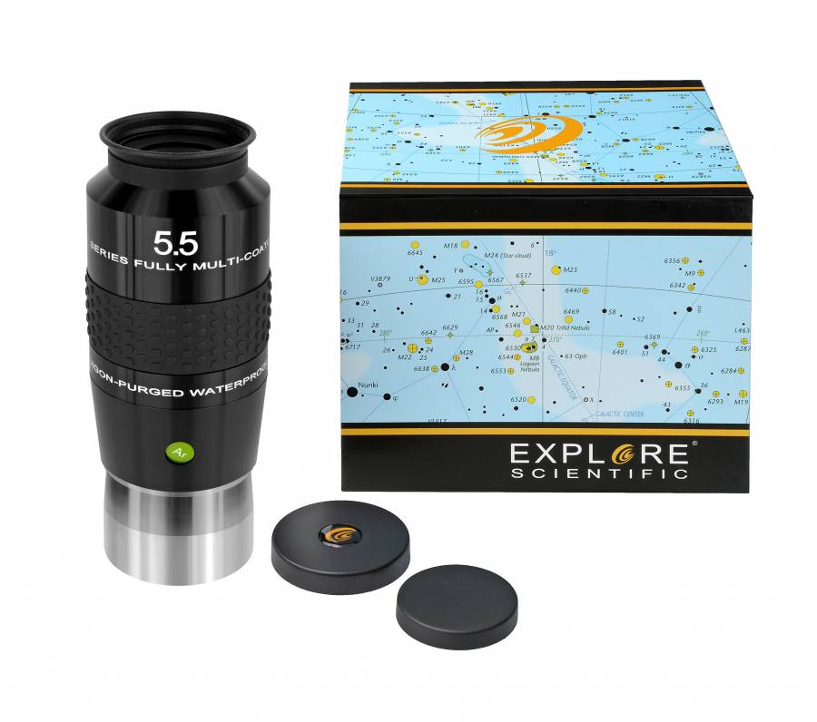 "EXPLORE SCIENTIFIC 100° Ar Oculare 5,5mm (2"")"