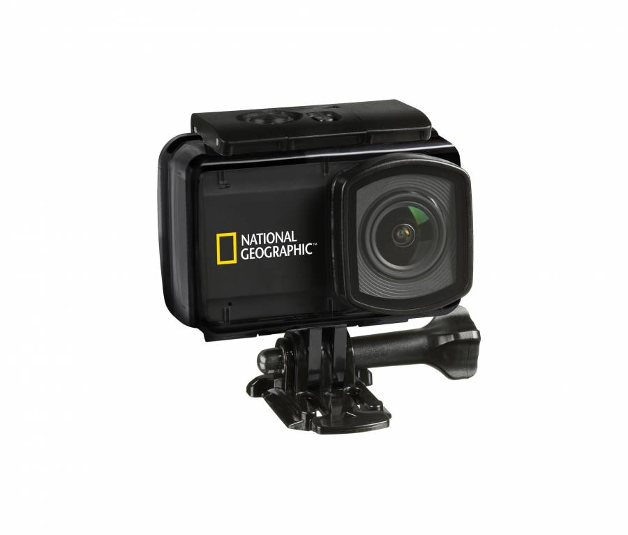 Action Camera NATIONAL GEOGRAPHIC Explorer 4 Ultra-HD 4K 30fps con Wi-Fi