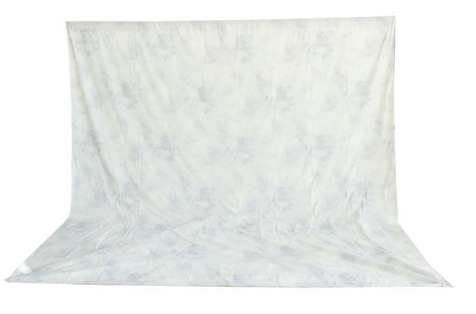 BRESSER BR-6106 washable Background Cloth with Pattern 3x6m