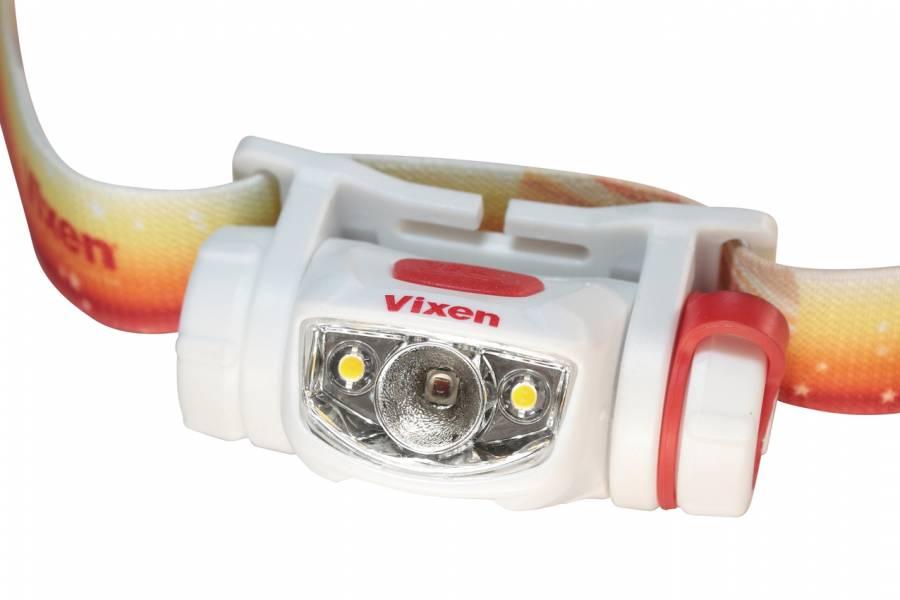 Lampada frontale LED Vixen SG-L01 a Luce rossa