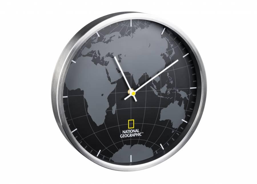 NATIONAL GEOGRAPHIC Horloge murale 30 cm