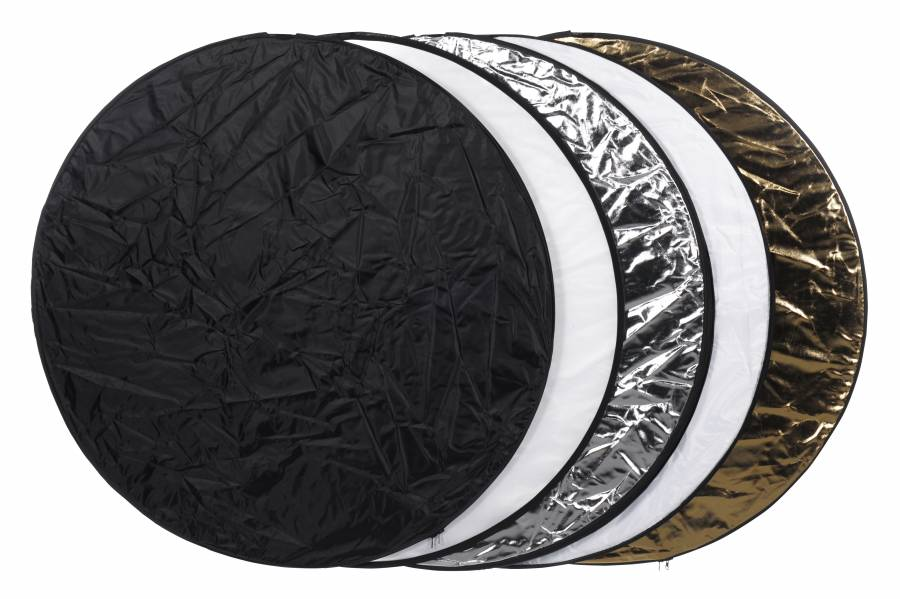 BRESSER BR-TR1 5in1 Collapsible Reflector round 78cm