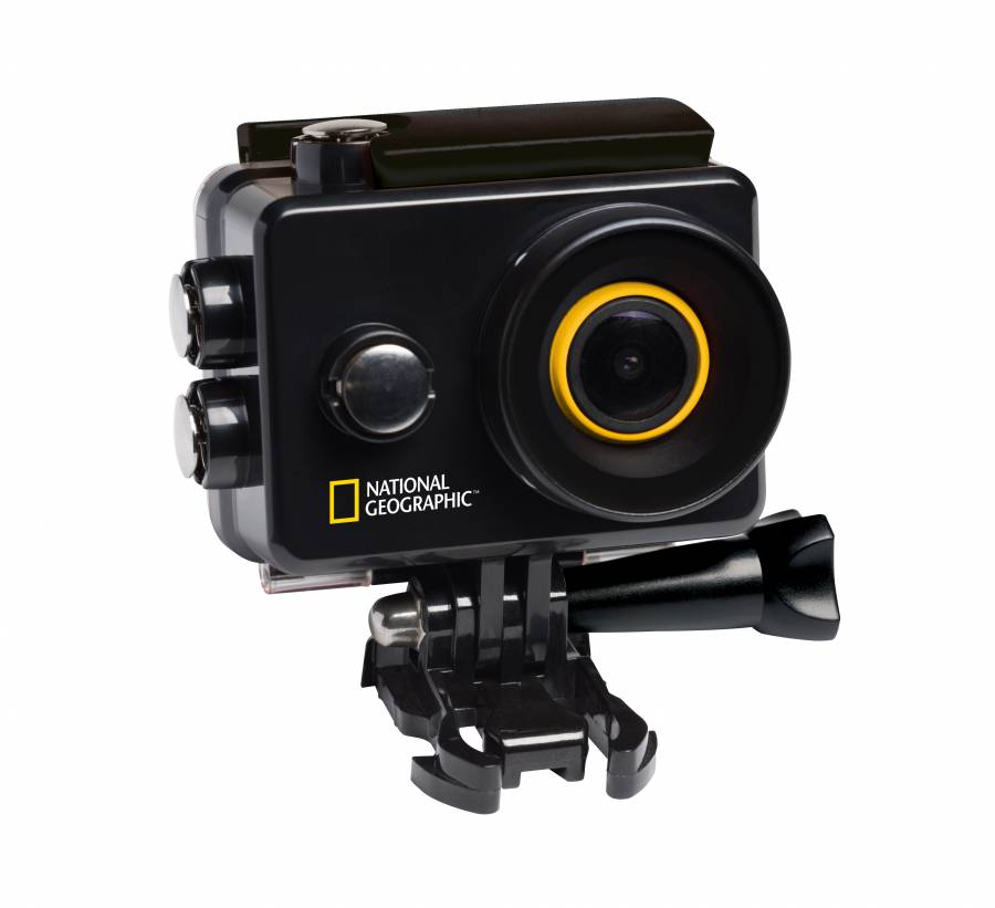 NATIONAL GEOGRAPHIC Full-HD WLAN Action Camera Explorer 2