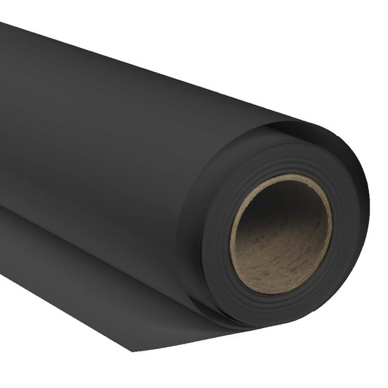 BRESSER SBP09 Paper Background Roll 1.36x11m black