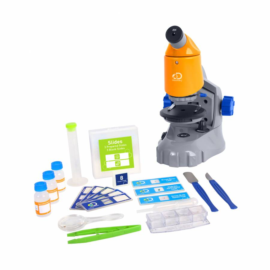 DISCOVERY ADVENTURES Zoom Power Lab Microscope