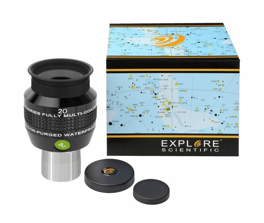 """EXPLORE SCIENTIFIC 68° Ar Oculare 20mm (1,25"""")"""
