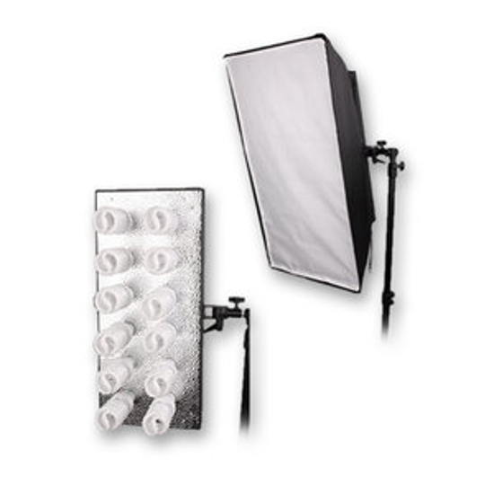 BRESSER MM-18 Lampholder for 12 daylight spiral lamps