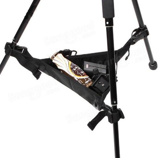 BRESSER BR-TB1 2in1 Accessory Tray and Counterweight for Tripods